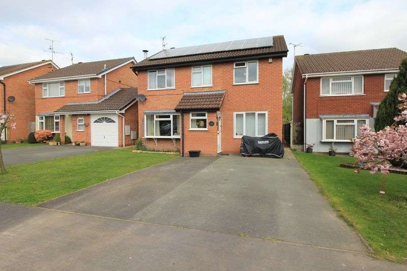 5 Bedrooms Detached House for sale in Balmoral Crescent, Oswestry