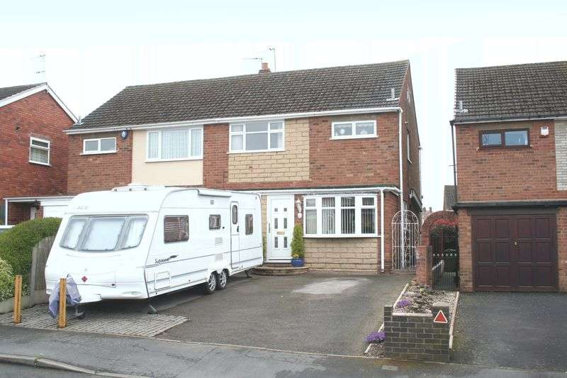 3 Bedrooms Semi Detached House for sale in WALL HEATH, Brook Street