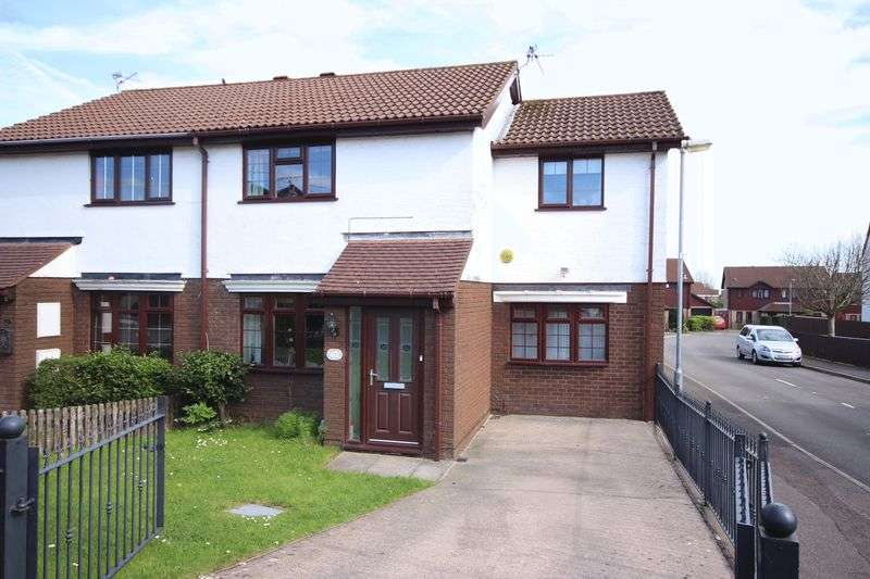 3 Bedrooms Semi Detached House for sale in Vaindre Drive, St Mellons
