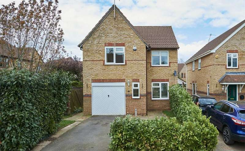 3 Bedrooms Detached House for sale in The Osiers, Desborough, Kettering, Northamptonshire