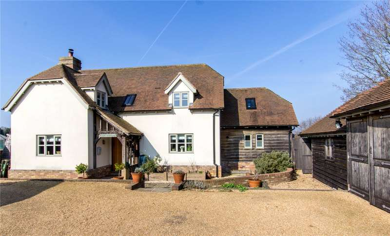 4 Bedrooms Detached House for sale in Shrub Lane, Burwash