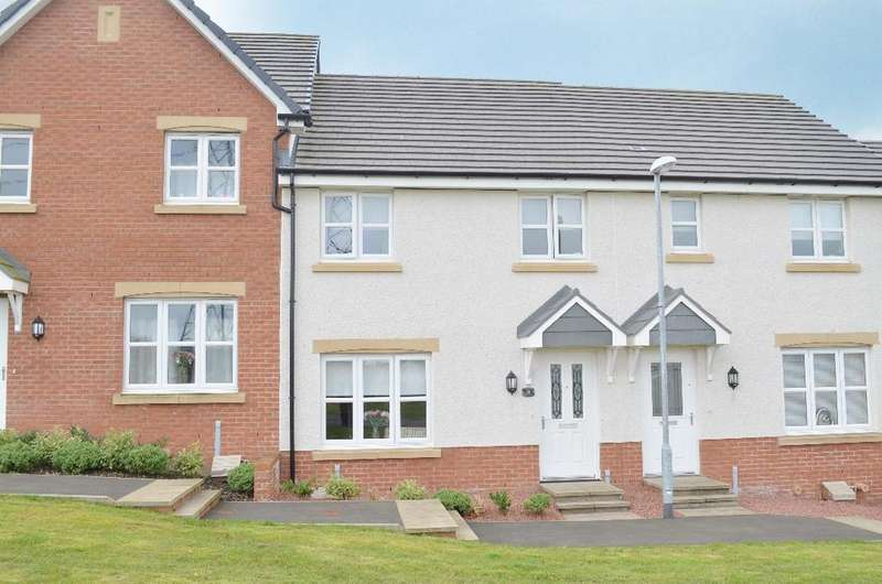 3 Bedrooms Terraced House for sale in Monroe Avenue, Lindsayfield , East Kilbride , South Lanarkshire , G75 8WA