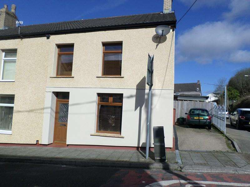 2 Bedrooms End Of Terrace House for sale in Caroline Street, Tonypandy