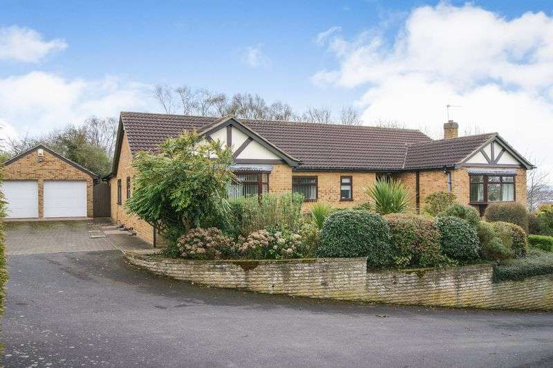 4 Bedrooms Detached Bungalow for sale in Orchard Close, Grantham