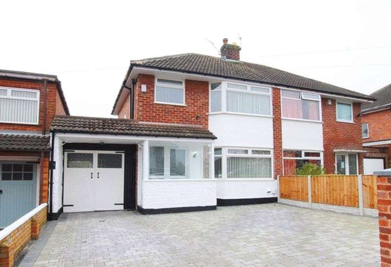 3 Bedrooms Semi Detached House for sale in Charterhouse Road, Woolton, Liverpool, L25