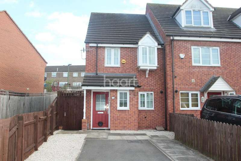 2 Bedrooms End Of Terrace House for sale in Bakewell Drive, Top Valley, Nottingham