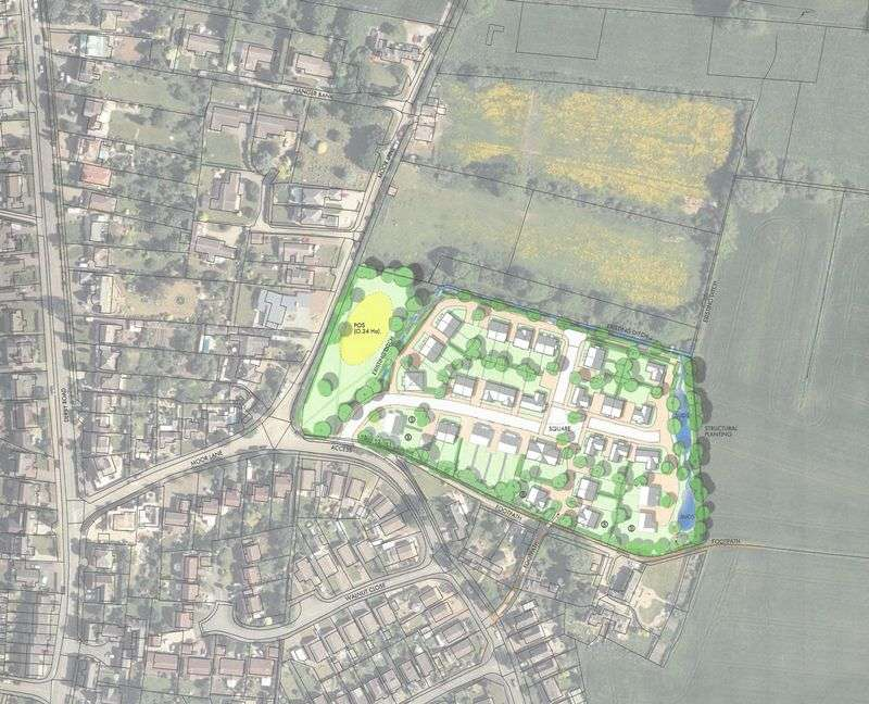 Land Commercial for sale in Residential Development Site off Moor Lane, Aston on Trent, Derbyshire