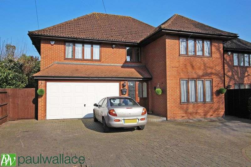 4 Bedrooms Detached House for sale in Highland Road, Nazeing