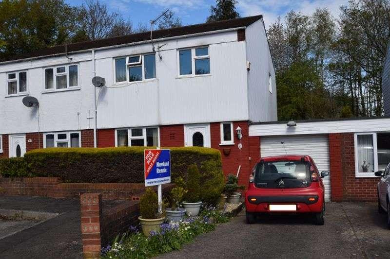 3 Bedrooms Semi Detached House for sale in Coed Lee, Coed Eva, Cwmbran