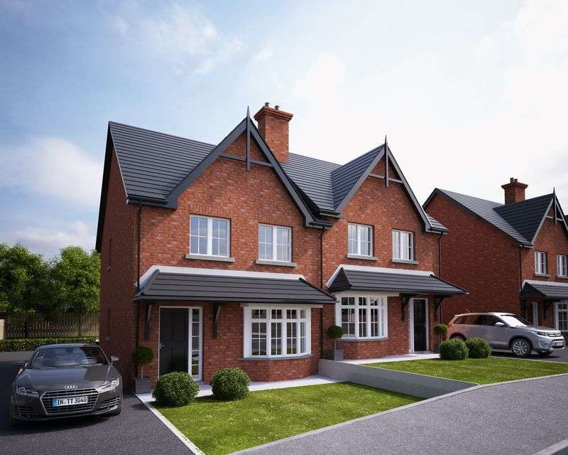 3 Bedrooms Semi Detached House for sale in Site 54 Lacehill Park, Portadown