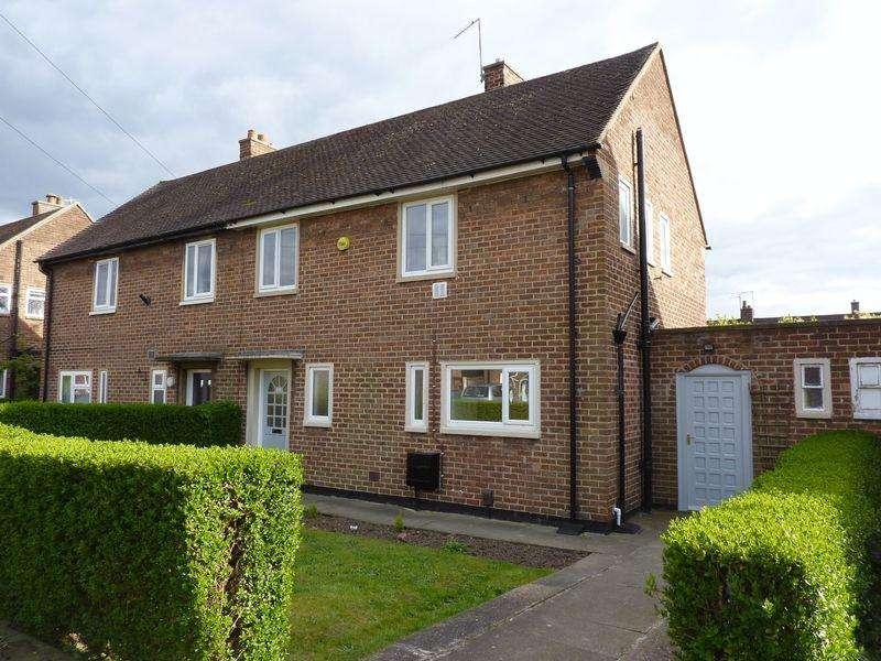 3 Bedrooms Semi Detached House for sale in Rutland Avenue, Borrowash, Derby