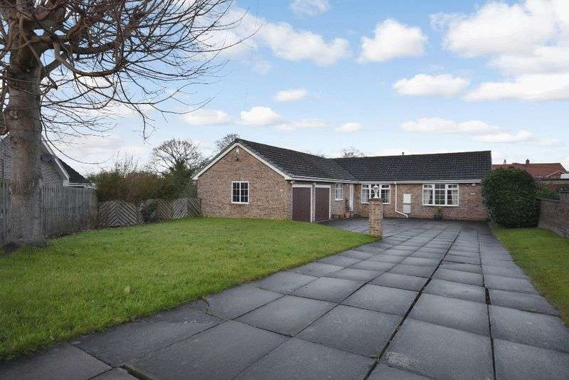 3 Bedrooms Detached Bungalow for sale in Heron Drive, Sandal