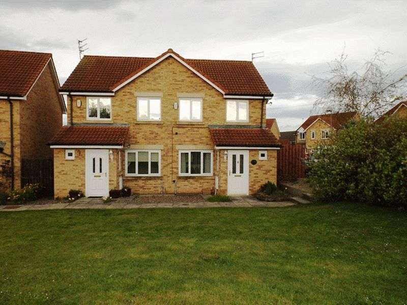 3 Bedrooms Semi Detached House for sale in Maple Drive, Widdrington - Three Bedroom semi detached House