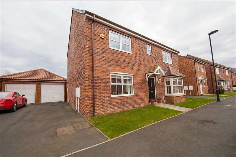 4 Bedrooms Detached House for sale in Cloverfield, West Allotment, Tyne And Wear, NE27
