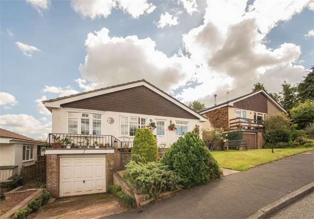 3 Bedrooms Detached Bungalow for sale in Anstey Crescent, Tiverton, Devon
