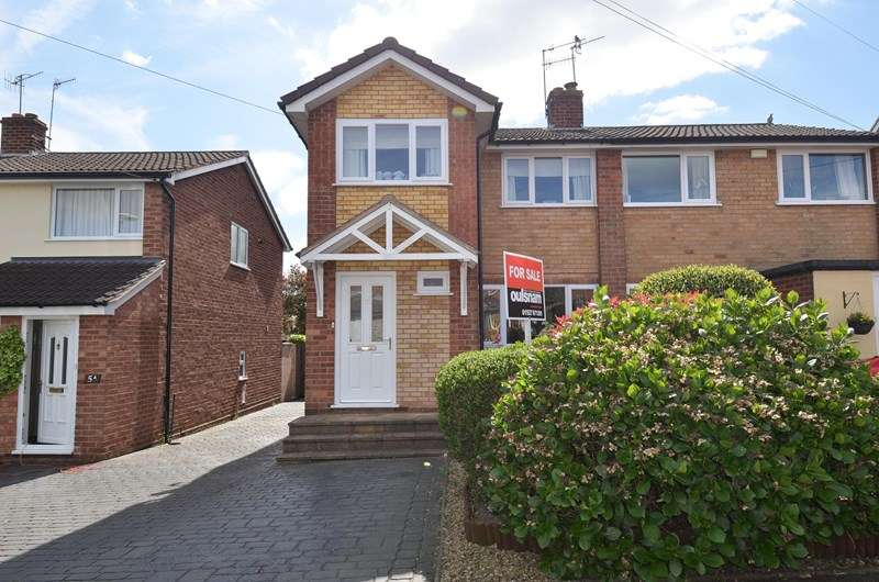 3 Bedrooms Semi Detached House for sale in Elm Grove, Bromsgrove