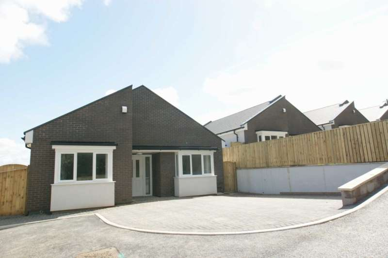 3 Bedrooms Detached Bungalow for sale in 5 Clos Llwyn Onn, Fron Park Road, Holywell, Flintshire. CH8 7UD