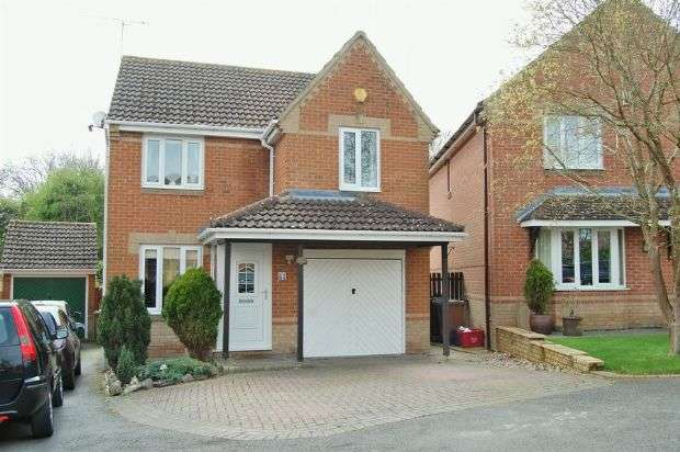 3 Bedrooms Detached House for sale in Peartree Close, Ashby Fields, Daventry NN11 0XB