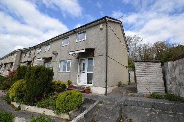 3 Bedrooms End Of Terrace House for sale in Mourne Villas, Billacombe Villas, Plymouth, Devon
