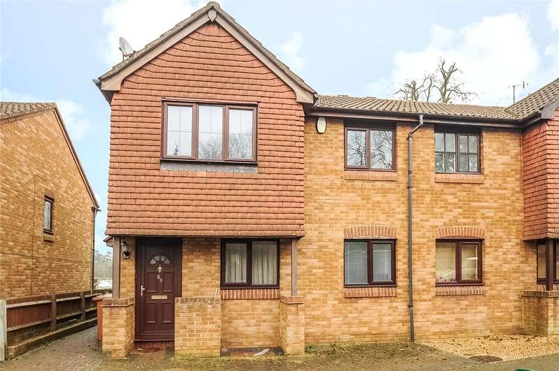 1 Bedroom Maisonette Flat for sale in Tylersfield, Abbots Langley, Hertfordshire, WD5