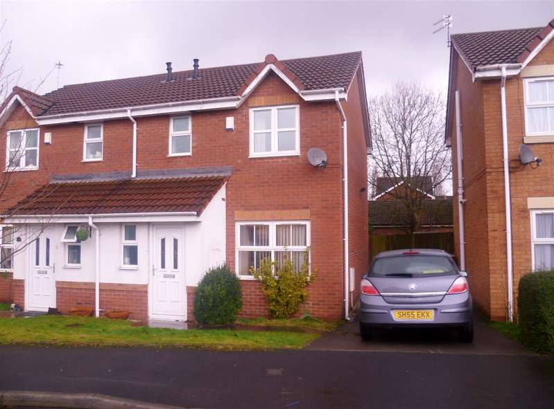3 Bedrooms Property for sale in Henty Close, Eccles, Manchester