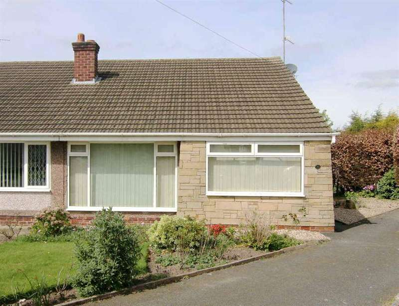 2 Bedrooms Semi Detached Bungalow for sale in Holyrood Way, Vicars Cross