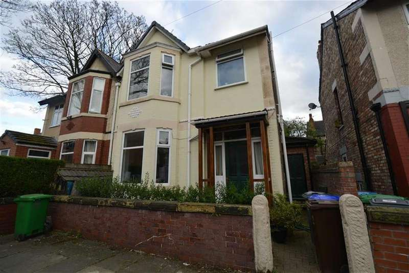 3 Bedrooms Semi Detached House for sale in Hazel Avenue, WHALLEY RANGE, Manchester