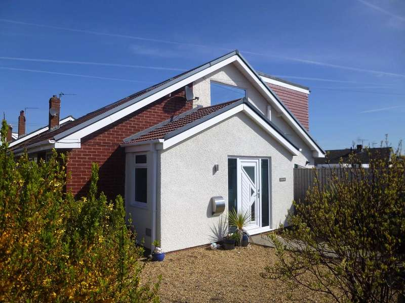 4 Bedrooms Semi Detached Bungalow for sale in Rockfields, Nottage, Porthcawl CF36