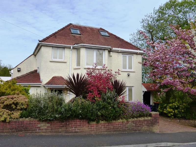 4 Bedrooms Detached House for sale in Allt Yr Yn Road, Newport