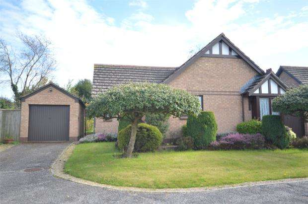 2 Bedrooms Detached Bungalow for sale in King Alfred Way, Newton Poppleford, Sidmouth, Devon