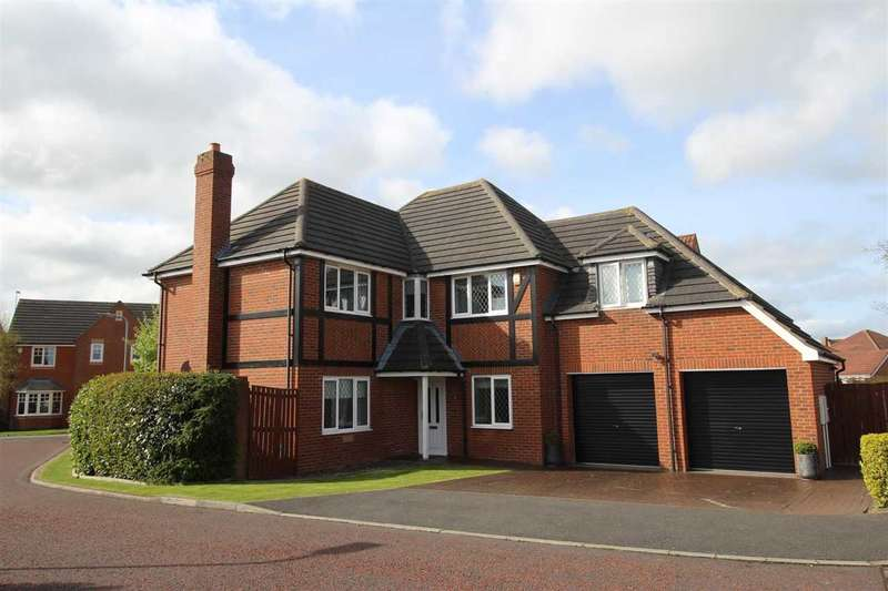 5 Bedrooms Detached House for sale in Lamonby Way, Southfield Gardens, Cramlington