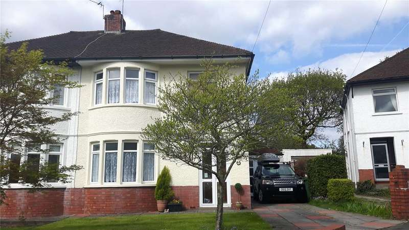 3 Bedrooms Semi Detached House for sale in Nant Fawr Close, Cardiff, Caerdydd, CF23