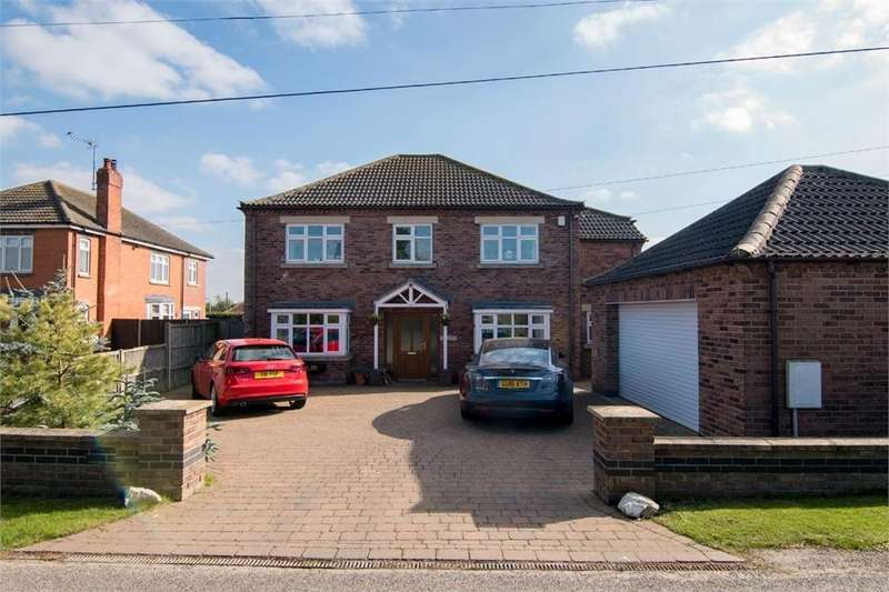 4 Bedrooms Detached House for sale in Abbey Road, Swineshead, Boston, Lincolnshire