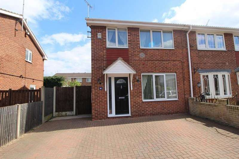 3 Bedrooms Semi Detached House for sale in 24 Avon Way, Worksop