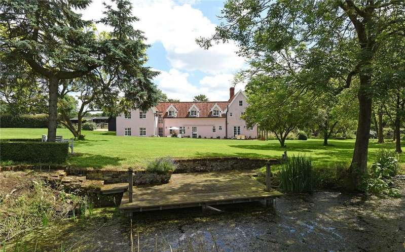 6 Bedrooms Equestrian Facility Character Property for sale in Saxtead, Nr Framlingham, Suffolk, IP13