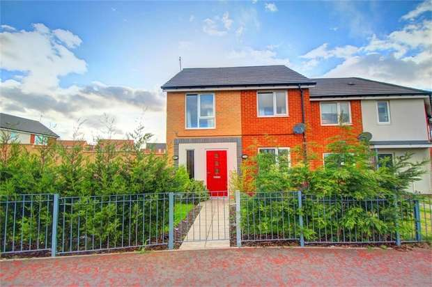 2 Bedrooms Semi Detached House for sale in Hollystone Drive, Hebburn, Tyne and Wear, UK