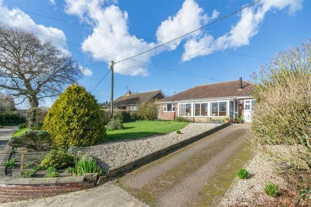 3 Bedrooms Detached Bungalow for sale in 4 Blacksmiths Lane, Hindringham