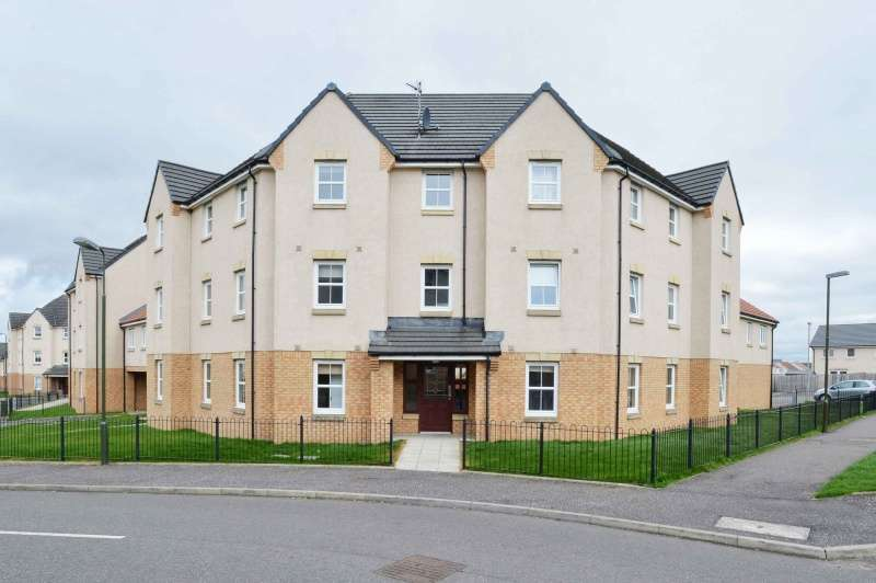2 Bedrooms Flat for sale in Russell Place, Westerinch, Bathgate, EH48 2GJ