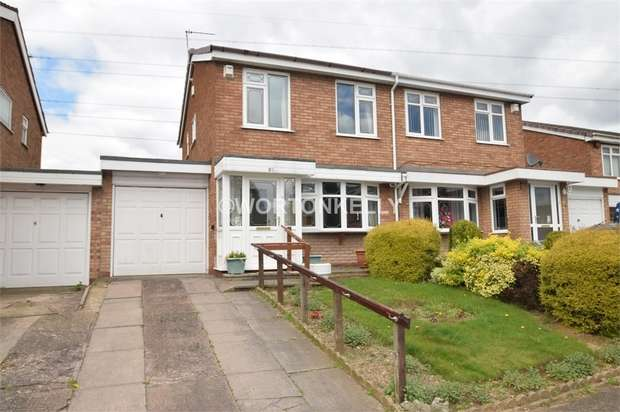 3 Bedrooms Semi Detached House for sale in Francis Ward Close, WEST BROMWICH, West Midlands