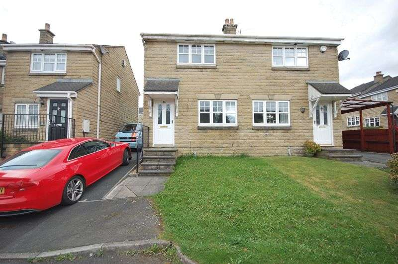 3 Bedrooms Semi Detached House for sale in Victoria Avenue, Hadfield