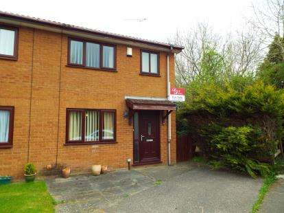 3 Bedrooms Semi Detached House for sale in Llys Daniel Owen, Denbigh Road, Mold, Flintshire, CH7