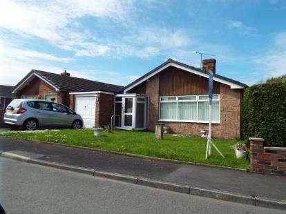 3 Bedrooms Bungalow for sale in Bryn Rhydd, Ruthin, Denbighshire, LL15