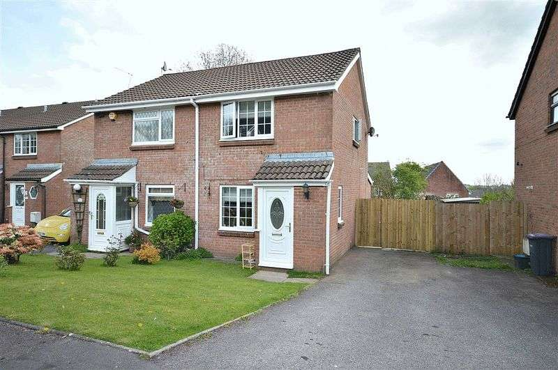 2 Bedrooms Semi Detached House for sale in Open Hearth Close, Pontypool