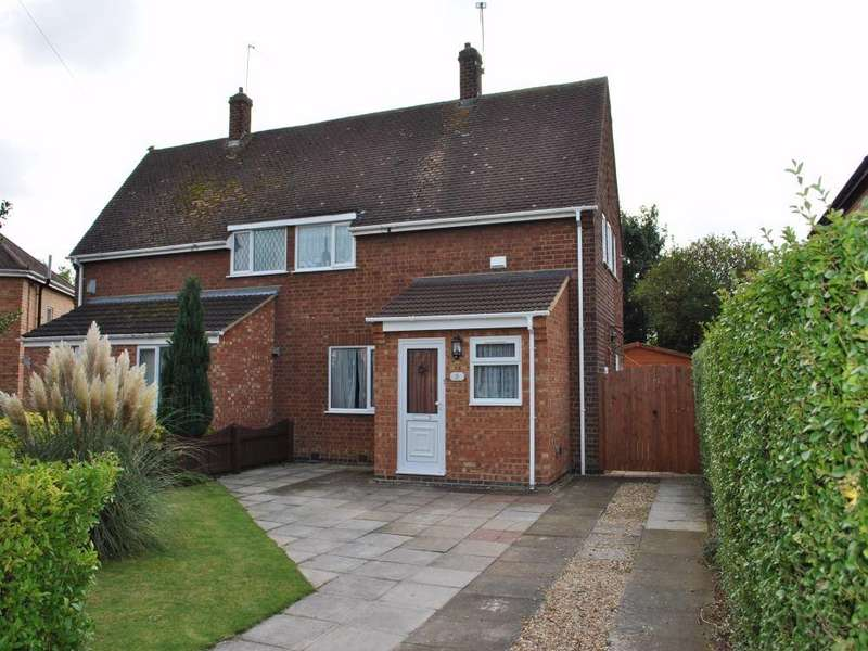 2 Bedrooms Semi Detached House for rent in Ollis Close, Corby, Northamptonshire