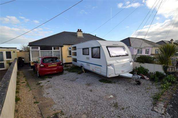 2 Bedrooms Semi Detached Bungalow for sale in Barton Avenue, Paignton, Devon