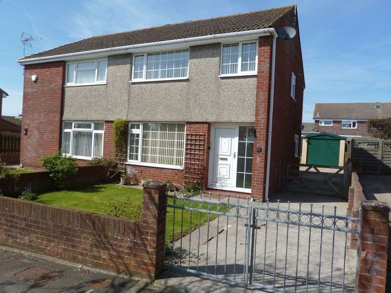 3 Bedrooms Semi Detached House for sale in Kenson Close, Rhoose