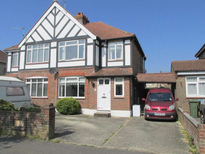 3 Bedrooms Semi Detached House for sale in Central Avenue, North Bersted, Bognor Regis, West Sussex, PO21 5HT