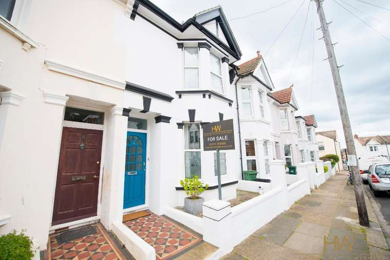 4 Bedrooms Terraced House for sale in Lennox Road, Hove, BN3 5HY