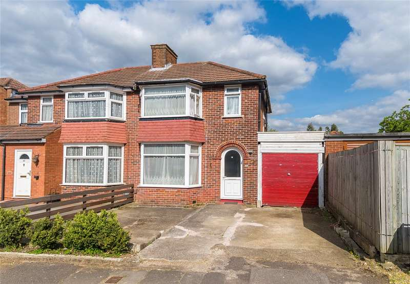 3 Bedrooms Semi Detached House for sale in Ladycroft Walk, Stanmore, HA7