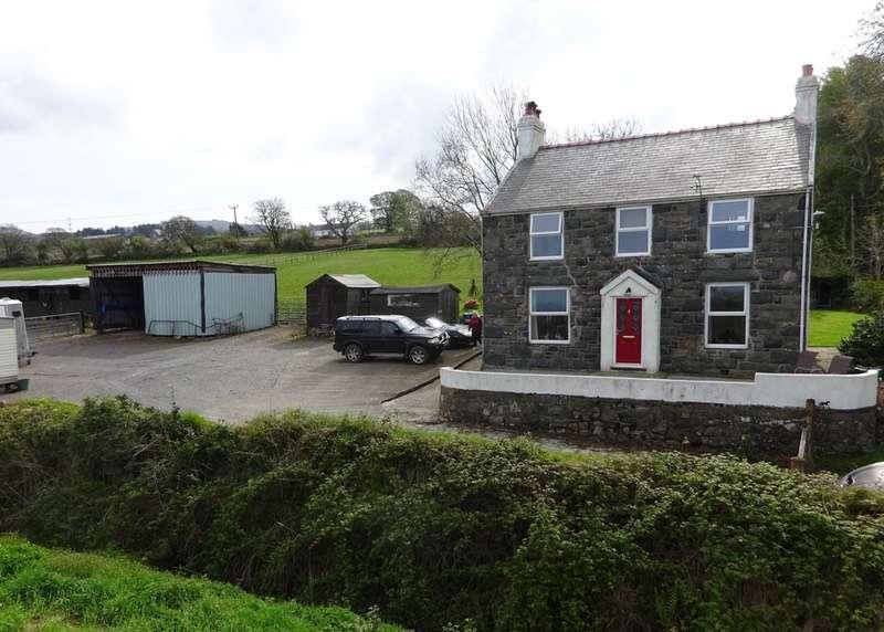 4 Bedrooms Equestrian Facility Character Property for sale in Maes Tryfan, Caernarfon, Gwynedd, LL54